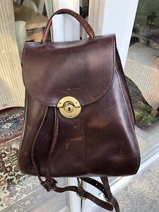 BREE  Leder Rucksack Vintage mit viel Stauraum