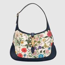 Authentic GUCCI Jackie Medium Flora hobo Bag Brand New