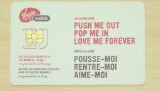 Virgin Mobile Canada Micro Sim Card