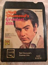 Neil Diamond Greatest Hits Eight-track BAN M 8219