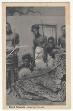 CARTE POSTALE AFRICA ORIENTALE GUERRIERI CUNAMA