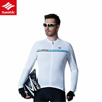 Sancit Men's Cycling Long-Sleeved Summer Riding Suit Bike Breathable Jersey