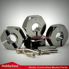 4 Stück 1/10 Metall Aluminium Hex Radnaben Länge 5mm-12mm für Tamiya HPI Buggy