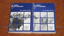PIO JARAMILLO ALVARADO EL INDIO ECUATORIANO COMPLETO COMPLETE 2 VOL. VI ED 1983