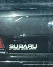 Subaru Not Just For Lesbians Decal Sticker Jdm Rumble Flat 4 Wrx Sti