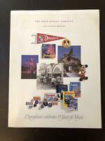 THE WALT DISNEY COMPANY 1989 ANNUAL REPORT DISNEYLAND 35 YEARS OF MAGIC COVER