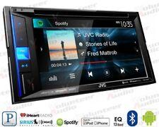 JVC KW-V25BT Double Din CD DVD Receiver Bluetooth SiriusXm Ready
