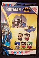 BATMAN BOXOS PLAYSET FUNKO PAPERCRAFT JOKER ROBIN FREE SHIPPING + ZWAAG!!!