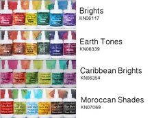 Ken Oliver Color Burst FOUR 6-packs BRIGHTS, EARTH TONES, CARIBBEAN, & MOROCCAN