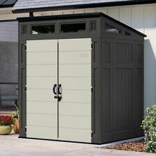 Suncast 6' x 5' Modern Storage Shed, 200 cu. ft. of Storage Capacity