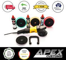 APEX CUSTOMS - SENSEI 15MM Dual Action DA RO Polisher Menzerna Compound Kit