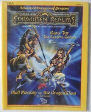 AD&D Forgotten realms Kara Tur OA5  Mad Monkey VS Dragon Claw D&D #9242 NEW!