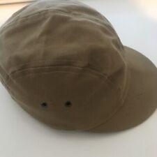 Filson Tin Cloth Short Bill Hat Vintage Cap USA Made Outdoors Fishing Tan RARE