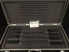 STORZ AXILLENT 5mm Laparoscopy Forceps *Set Of 8* (P/N: N33821)