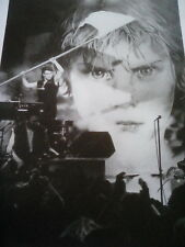 U2 1983 on The Tube TV Show Bono Music Book 23x17cm to Frame?