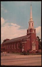Gastonia NC First Methodist Church Postcard