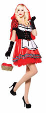 Disfraces de mujer de color principal rojo talla S de poliéster