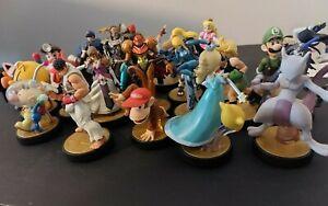 HUGE Nintendo 23 Amiibo Lot (Nintendo Switch Super Smash Bros.)