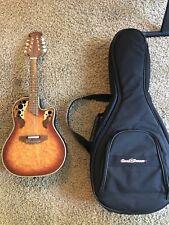 Ovation Celebrity Model MCS 148 Mandolin Acoustic/Electric barely Used! W/case!