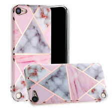 For Apple iPod Touch 5th 6th 7th Generation UK Stock Geometric Marble Case Cover