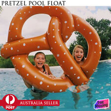 Summer Swim Swimming Lounge Pool Giant Pretzel Inflatable Float Play Fun Toy