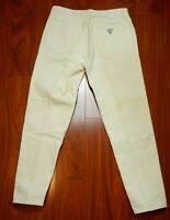 Vintage Guess White Denim Jeans USA Men's Size 34 33x30.5
