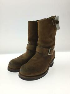 Red wing Engineer Us6.5 Sewed 8178 Simiari Ocher Size 6.5 Boots From Japan