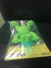 WubbaNub Infant Baby Soothie Pacifier Frog Brand New Authentic Wubbanub