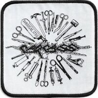 Official Licensed Merch Woven Sew-on PATCH Heavy Metal Rock CARCASS Tools
