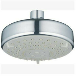 ABS Round 5 Inches 5 Function Shower Head Small Top Spray