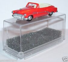 MICRO PRALINE HO 1/87 BUICK 50 CABRIOLET OUVERT ROUGE ORANGE IN BOX bis