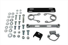 Chrome Hair Pin Solo Seat Mount Kit For Harley-Davidson