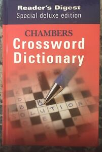 Chambers Reader's Digest Crossword Dictionary Deluxe Edition HC 2005