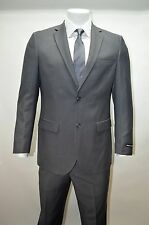 Men's Gray 2 Button Modern Fit Suit SIZE 48R NEW