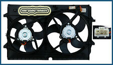 Holden Crewman VZ V6 New Radiator Thermo Dual Fan Assembly 2004-2007
