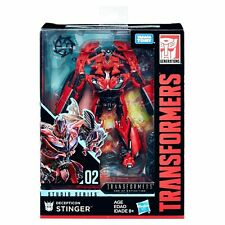 HASBRO TRANSFORMERS STUDIO SERIES 02 DELUXE CLASS DECEPTICON STINGER FIGURE