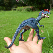 Realistic Dilophosaurus Dinosaur Toy Action Figure Fun Kids Christmas Gift