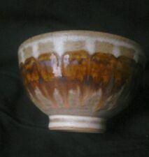 "Dennis Lucas Pottery bowl,  two fish mark 5"" free UK postage"