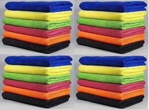 Pack 1x 3x 6x Microfibre Home Kitchen Car Valeting Polishing Cleaning Cloths