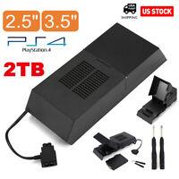 2TB Hard Drive External Box For PS4 Internal Memory Extra Storage Data Bank