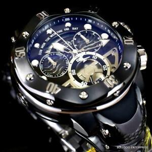 Invicta Reserve Kraken Swiss Chronograph 8040.N Black Steel 54mm Watch New