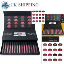 16pcs HUDA BEAUTY MAKEUP LIQUID MATTE FULL COLLECTION SETS SHADES Kit LIPSTICK