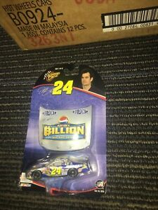 Winner's Circle Jeff Gordon #24 1:64 Car & Pepsi Play for a Billion Hood #28972