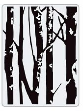 Sizzix Birch Trees Embossing folder #661405 Retail $4.99 designer Tim Holtz