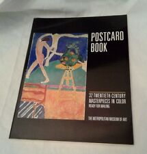 BOOK ART POSTCARD 32 20th C. MasterPieces Ready to Mail Metropolitan Museum of A
