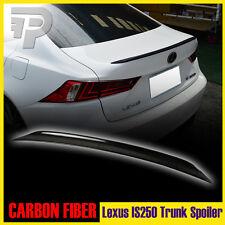 For Lexus IS250 IS350 XE30 Carbon Rear Trunk Spoiler Sedan