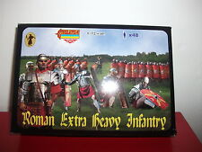 roman extra heavy infantry strelets R mini figurine maquette 1/72 model kit