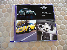MINI COOPER OFFICIAL LOS ANGELES AUTOSHOW CD ROM PRESSKIT 2004 USA EDITION