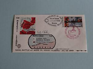 WWII FDC #11 Mers-el-Kebir Algeria France Britain * 50th Anniversary