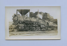 1940 B&O 2-10-2 Steam Locomotive #6220 in Glenwood PA - Vtg B&W Railroad Photo